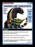 Gogmurt And Tangletooth - Custom Card