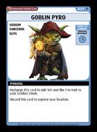 Goblin Pyro - Custom Card