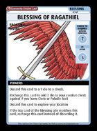 Blessing Of Ragathiel - Custom Card