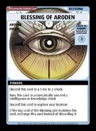 Blessing Of Aroden - Custom Card