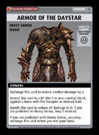 Armor Of The Daystar - Custom Card