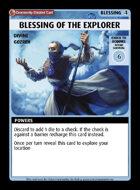 Blessing Of The Explorer - Custom Card