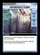 Apprentice Cleric - Custom Card
