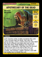 Apothecary Of The Dead - Custom Card