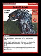 Barbed Devil - Custom Card