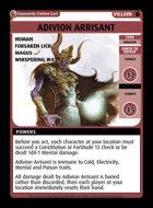 Adivion Arrisant - Custom Card