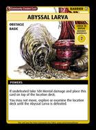 Abyssal Larva - Custom Card