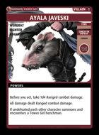 Ayala Javeski - Custom Card