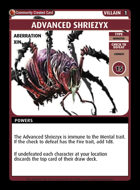 Advanced Shriezyx - Custom Card