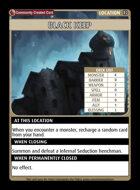 Black Keep - Custom Card