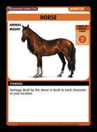 Horse - Custom Card