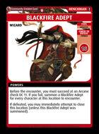 Blackfire Adept - Custom Card