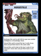 Augustille - Custom Card