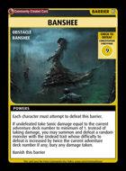 Banshee - Custom Card