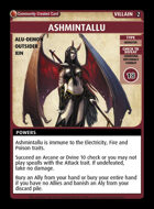 Ashmintallu - Custom Card