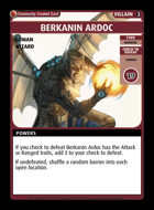 Berkanin Ardoc - Custom Card