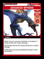 Advanced Wyvern - Custom Card