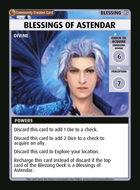 Blessings Of Astendar - Custom Card