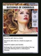 Blessings Of Chorrolis - Custom Card