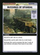 Blessings Of Upandal - Custom Card