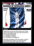 Banner Of Windsong Abbey - Custom Card