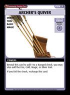 Archer's Quiver - Custom Card