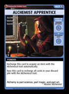 Alchemist Apprentice - Custom Card
