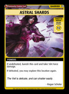 Astral Shards - Custom Card