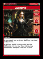 Alchemist - Custom Card