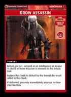 Drow Assassin - Custom Card