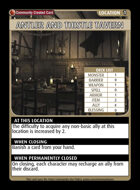 Antler And Thistle Tavern - Custom Card