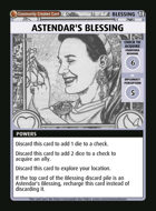 Astendar's Blessing - Custom Card