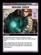 Healing Touch - Custom Card