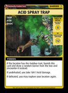 Acid Spray Trap - Custom Card