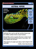 Astral Viper - Custom Card