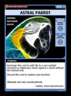 Astral Parrot - Custom Card
