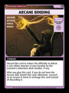 Arcane Binding - Custom Card