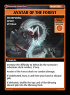 Avatar Of The Forest - Custom Card