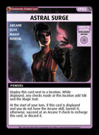 Astral Surge - Custom Card