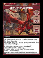 Ashard Razorwing - Custom Card