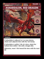 Ashardalon, Red Dragon - Custom Card