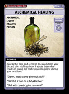 Alchemical Healing - Custom Card
