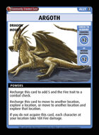 Argoth - Custom Card