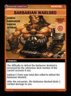 Barbarian Warlord - Custom Card