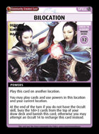 Bilocation - Custom Card
