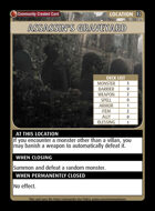 Assassin's Graveyard - Custom Card