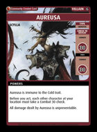 Aureusa - Custom Card