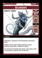 Belmedra - Custom Card