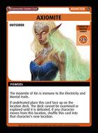 Axiomite - Custom Card
