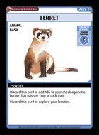 Ferret - Custom Card